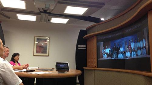 Polycom助力全国首个海外远程视频招聘会成功举办