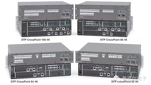 Extron 推出了全新的 DTP CrossPoint 4K 系列