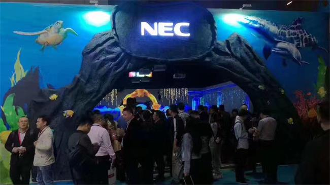 NEC新品闪耀 Infocomm China 2017