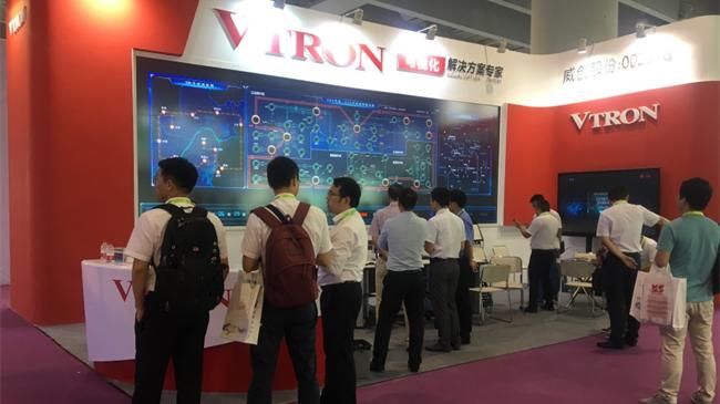 关联分析+全景展示,威创惊艳2017亚洲智能电网展览会