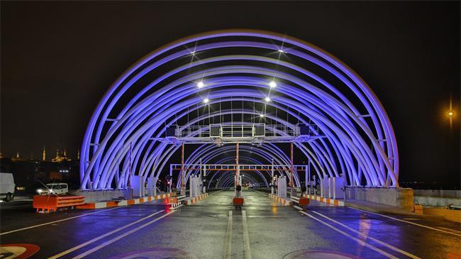 博世为新建成的欧亚海底公路隧道提供安防解决方案,确保隧道行车安全