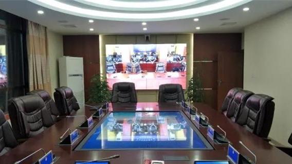 上海金桥为西藏那曲比如县公安局量身打造了现代化指挥中心