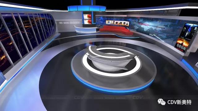 新奥特连续中标全媒体演播室项目 | 现代演播室该怎么建