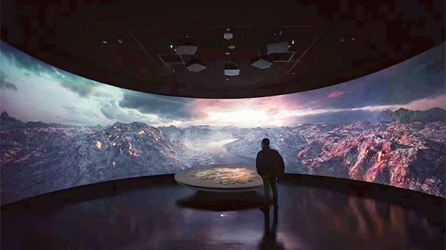 赢康参与湖南省博物馆投影工作,科视Christie视觉解决方案演绎鲜活历史
