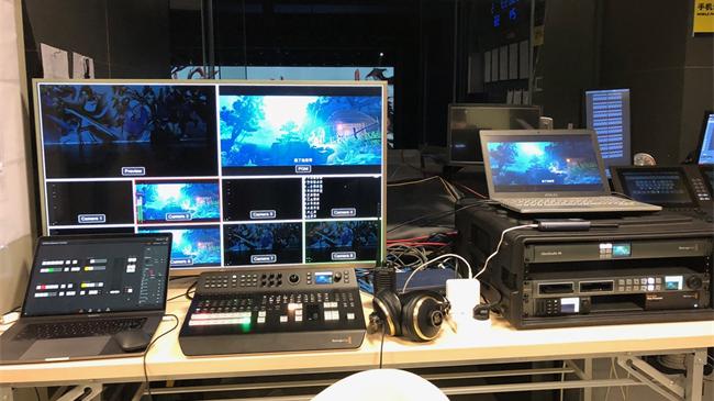 《剑网3 》官方直播团队采用Blackmagic Design现场制作系统