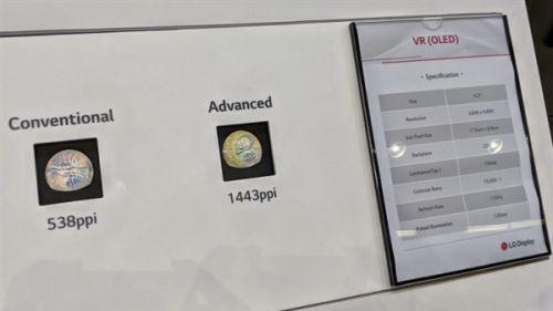 谷歌与LG Display将正式发布面向VR/AR设备的全新OLED显示屏