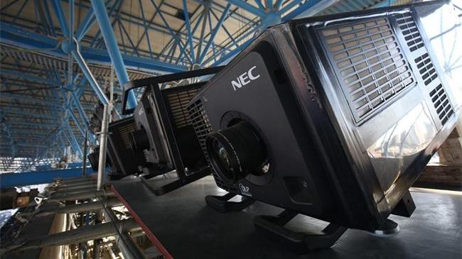 NEC点亮河北省残运会 与爱同行 共筑梦想