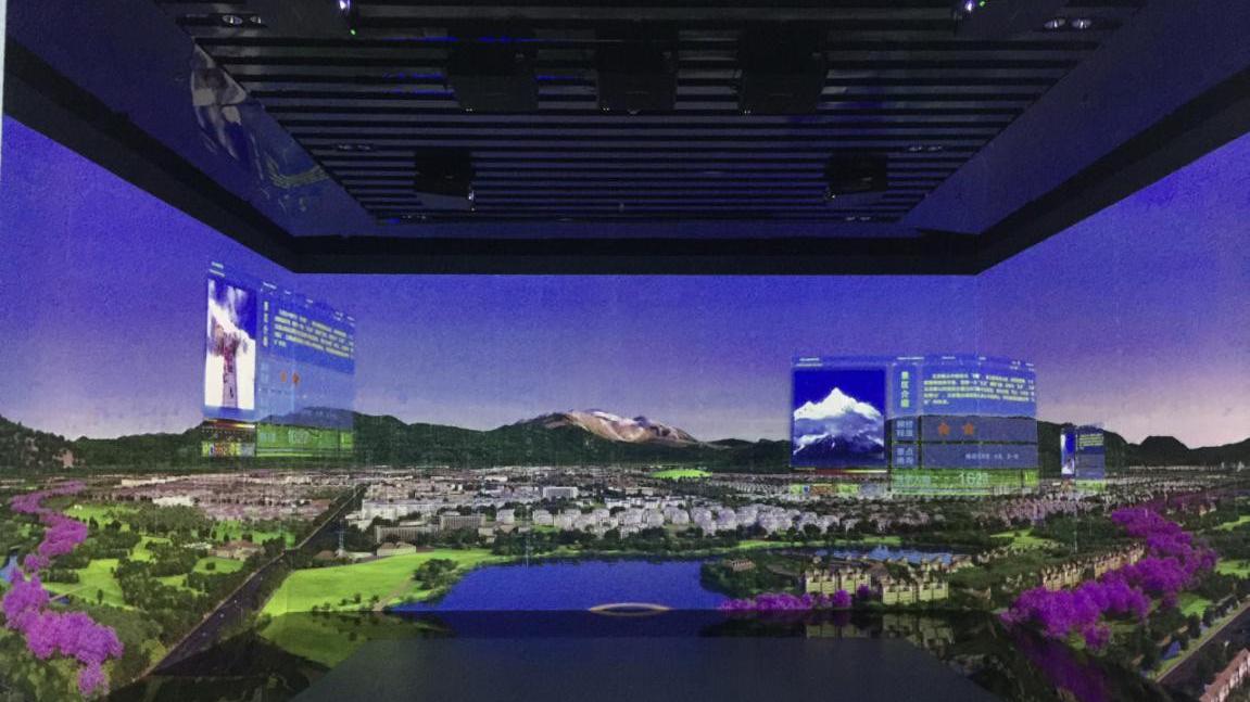 投影下的丽江旅游产业大数据平台!